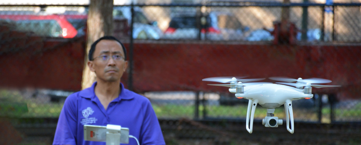 spatial science drone